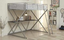 Coaster James Twin Loft Bunk Bed Available Online in Dallas Fort Worth Texas