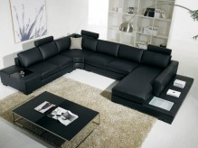 VIG Adobe Black Sectional Sofa ... Available Online in Dallas Fort Worth Texas
