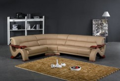 VIG Divani Casa Beige Leather S... Available Online in Dallas Fort Worth Texas