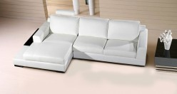 VIG Divani Casa Soho White Leat... Available Online in Dallas Fort Worth Texas