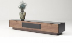 Darius Walnut TV Stand Available Online in Dallas Fort Worth Texas