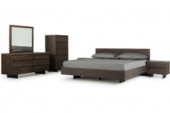 VIG Selma 5pc Dark Aged Oak Bedroom Group Available Online in Dallas Fort Worth Texas