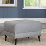 Ashley Cardello Pewter Ottoman Available Online in Dallas Fort Worth Texas
