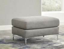 Ashley Ryler Steel Ottoman Available Online in Dallas Fort Worth Texas
