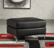 Ashley Tensas Black Ottoman Available Online in Dallas Fort Worth Texas