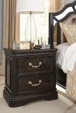 Quinshire Dark Brown Night Stand Available Online in Dallas Fort Worth Texas