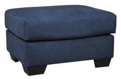 Darcy Blue Ottoman Available Online in Dallas Fort Worth Texas