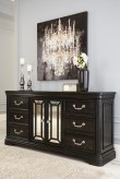 Quinshire Dark Brown Dresser Available Online in Dallas Fort Worth Texas