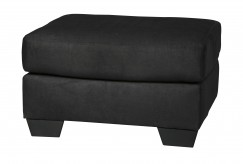 Darcy Black Ottoman Available Online in Dallas Fort Worth Texas