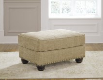 Ashley Candoro Oatmeal Ottoman Available Online in Dallas Fort Worth Texas