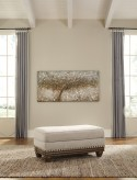 Ashley Harleson Ottoman Available Online in Dallas Fort Worth Texas