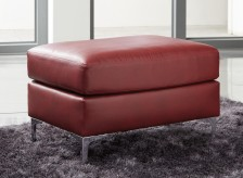 Ashley Tensas Red Ottoman Available Online in Dallas Fort Worth Texas