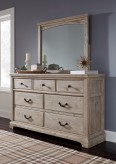 Ashley Charmyn Bedroom Mirror Available Online in Dallas Fort Worth Texas