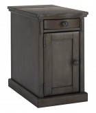Laflorn Grey Chair Side End Table Available Online in Dallas Fort Worth Texas