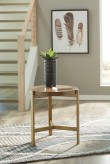 Ashley Franston Round End Table Available Online in Dallas Fort Worth Texas