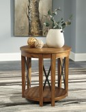 Ashley Emilander Round End Table Available Online in Dallas Fort Worth Texas