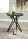 Ashley Tavonni Round End Table Available Online in Dallas Fort Worth Texas