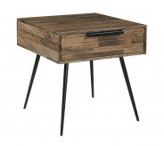 Ashley Karmont Square End Table Available Online in Dallas Fort Worth Texas