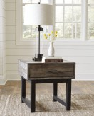 Ashley Mondoro Square End Table Available Online in Dallas Fort Worth Texas