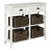 Ashley Oslember White Console S... Available Online in Dallas Fort Worth Texas