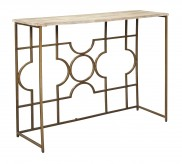 Ashley Roelsen Gold Console Sof... Available Online in Dallas Fort Worth Texas