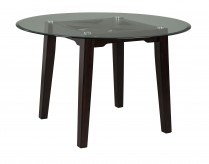 Ashley Chanceen Round Glass Top... Available Online in Dallas Fort Worth Texas