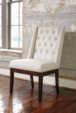 Ashley Ranimar Beige Side Chair Available Online in Dallas Fort Worth Texas