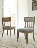 Ashley Ollesburg Side Chair Available Online in Dallas Fort Worth Texas