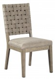 Ashley Chapstone Grey Side Chair Available Online in Dallas Fort Worth Texas
