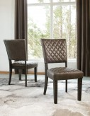 Ashley Baylow Side Chair Available Online in Dallas Fort Worth Texas