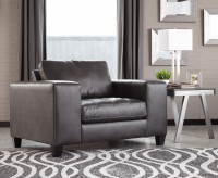 Ashley Nokomis Charcoal Chair A... Available Online in Dallas Fort Worth Texas