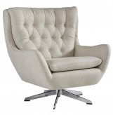 Ashley Velburg Cream Accent Chair Available Online in Dallas Fort Worth Texas