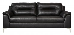 Ashley Tensas Black Sofa Available Online in Dallas Fort Worth Texas
