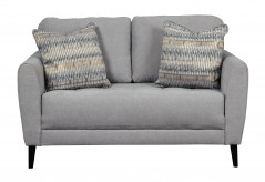 Ashley Cardello Pewter Loveseat Available Online in Dallas Fort Worth Texas