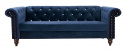 Ashley Malchin Blue Loveseat Available Online in Dallas Fort Worth Texas