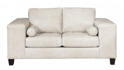 Ashley Nokomis White Loveseat Available Online in Dallas Fort Worth Texas