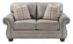 Ashley Olsberg Steel Loveseat Available Online in Dallas Fort Worth Texas
