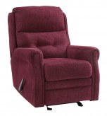 Ashley Penzberg Burgundy Glider... Available Online in Dallas Fort Worth Texas