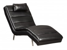 Ashley Goslar Black Chaise Available Online in Dallas Fort Worth Texas