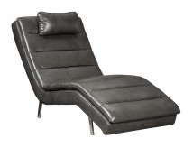 Ashley Goslar Grey Chaise Available Online in Dallas Fort Worth Texas