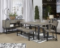 Ashley Cazentine Dining Room Be... Available Online in Dallas Fort Worth Texas