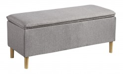 Ashley Kaviton Gray Accent Bench Available Online in Dallas Fort Worth Texas