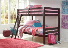 Ashley Hallytown Twin/Twin Bunk Bed with Ladder Available Online in Dallas Fort Worth Texas