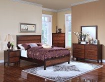 New Classic Bishop King Panel 5pc Bedroom Group Available Online in Dallas Fort Worth Texas