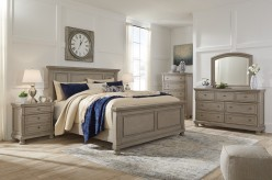 Lettner 5pc King Panel Bedroom Group Available Online in Dallas Fort Worth Texas