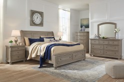 Lettner 5pc Queen Sleigh Bedroom Group Available Online in Dallas Fort Worth Texas