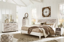 Evanni 5pc Queen/Full Panel Bedroom Group Available Online in Dallas Fort Worth Texas