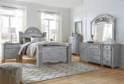 Zolena 5pc Queen Poster Bedroom Group Available Online in Dallas Fort Worth Texas