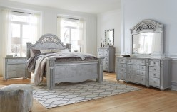 Zolena 5pc King Poster Bedroom Group Available Online in Dallas Fort Worth Texas