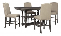 Audberry 5pc Counter Height Dining Room Set Available Online in Dallas Fort Worth Texas